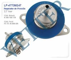 REGULADOR DE PRESSÃO REGULADOR 2.7 BAR FORD F1000 6CC 95... 0280160739 / F5TE9C968BA