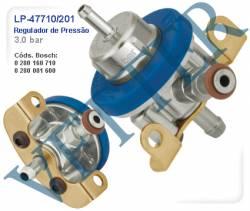 REGULADOR DE PRESSÃO REGULADOR 3.0 BAR VW / FORD / FIAT / ALFA  GOL 2.0 GTI 88>92 SANTANA 2.0 89>93 VERSAILLES / ESCORT XR3 2.0 LE