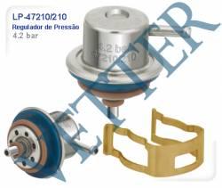 REGULADOR DE PRESSÃO GM - BLAZER 4.3 V6 00... S10 4.3 V6 96... 4.2 BAR 17113687