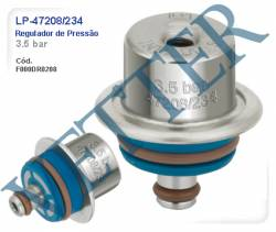 REGULADOR DE PRESSÃO REGULADOR 3.5 BAR FIAT / GM / RENAULT / VW / UNO / SIENA / PALIO / DOBLO FIRE/1.8 ADVENTURE 00... CELTA 1.0