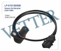 SENSOR DE ROTAÇÃO GM - IPANEMA / KADETT 2.0 MPFi 0261210138