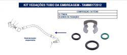 KIT VEDAÇÕES TUBO EMBREAGEM FIAT/VW TAMM0172312