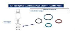 KIT VEDAÇÕES ELETROVALVULA FIAT/VW 40447292 TAMM0172311