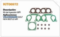 KIT TBI VOLKSWAGEN GOLF 01/89A30/06/01 E GOLF 07/2001.../N.BEETLE-MOTOR 4 CIL.2.0 8V.115 CV .-GAS.COM JUNTAS DE ADMISS
