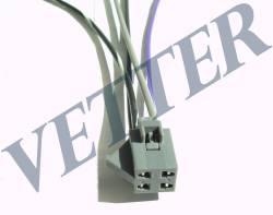 CHICOTE GM -  S10 /  BLAZER TDS C/ FLANGE METALICA / PLASTICA  PARTE INFERIOR